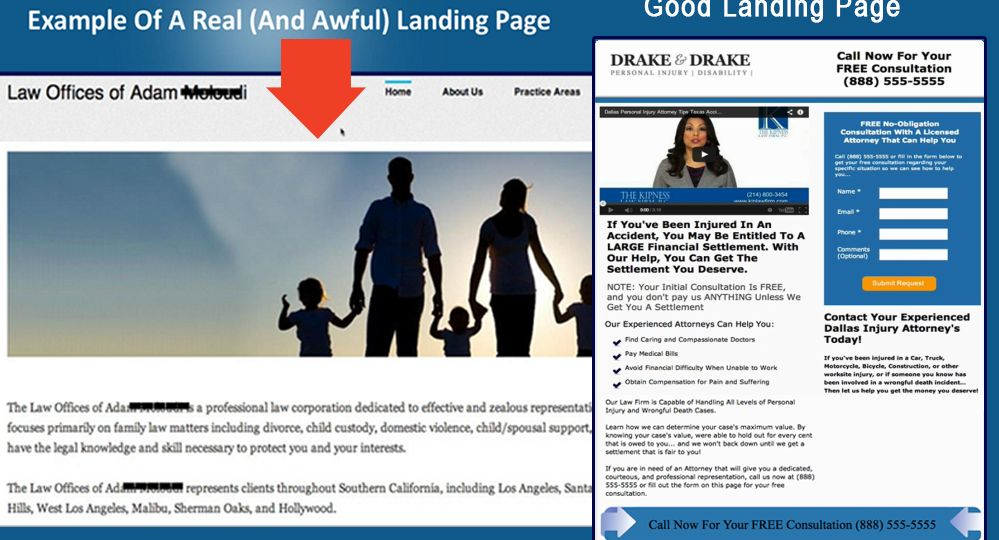 good-vs-bad-landing (Demo)