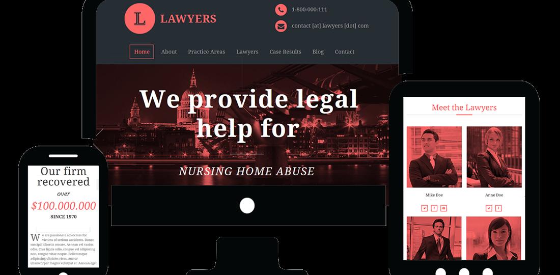 responsive-legal (Demo)