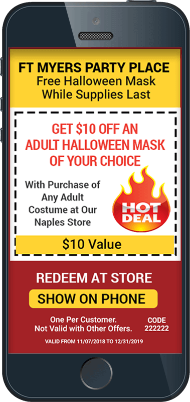 SMS Coupon for Halloween