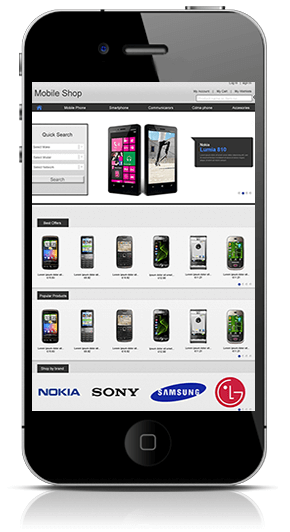 Cell Phone eCommerce App