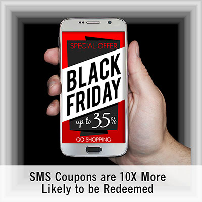 SMS Statistics Black Friday Coupon