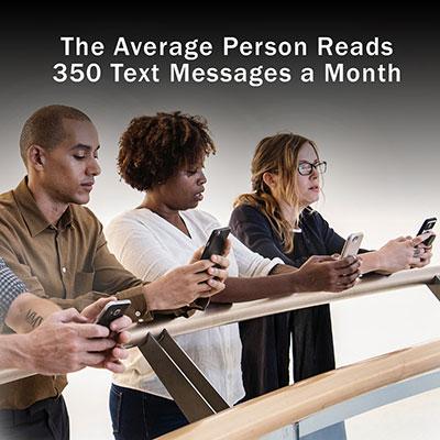 SMS Statistics Text Messages Per Month