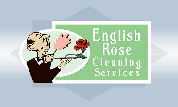 English Rose Cleaning Company Logo