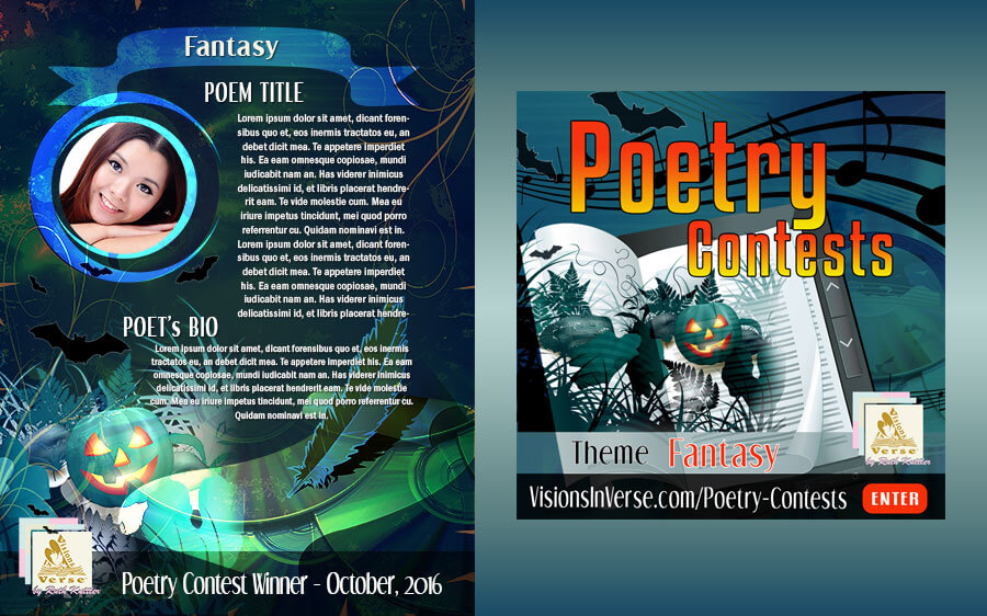 Visions in Verse Poetry Website Contest Artwork