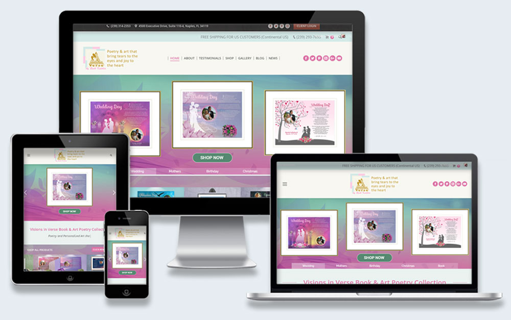 Artistic eCommerce Project