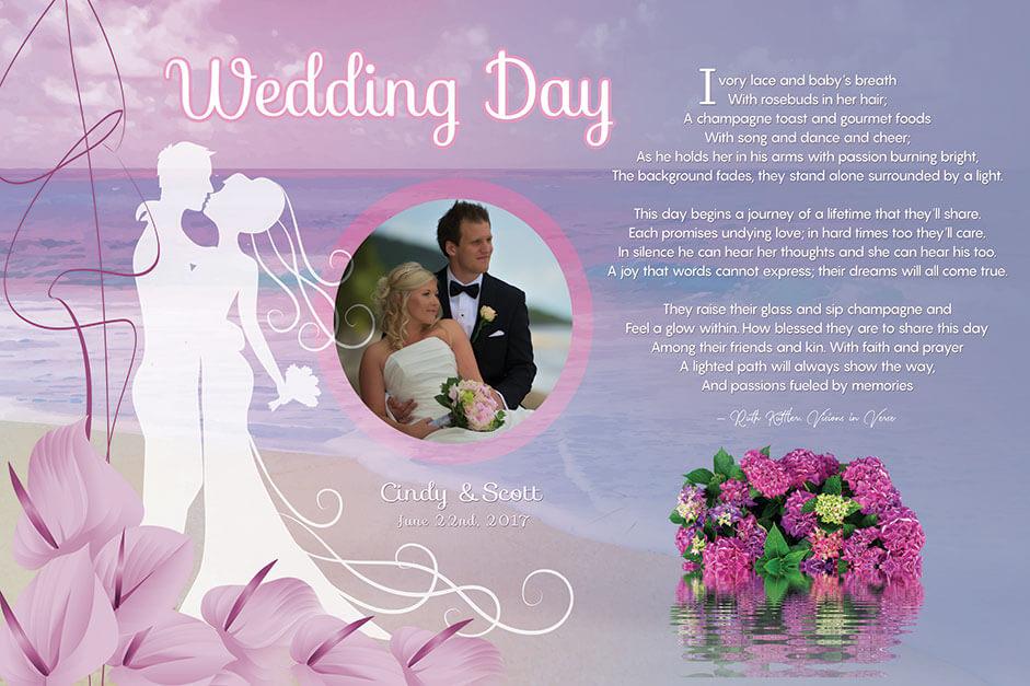 Art Poetry eCommerce Wedding Design Product