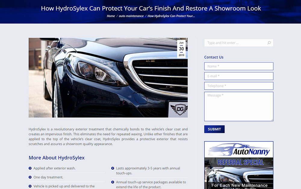 About Absentee Owner Auto Services