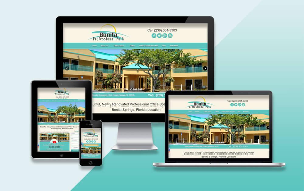 Professional Park Property Website Project